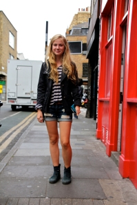 Sasha, Hanbury Street, London