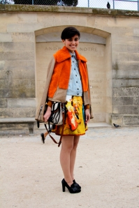 Anne-Catherine Frey, Tuileries, PFW