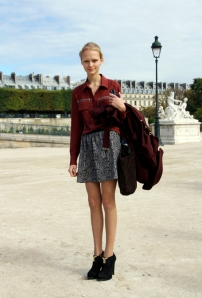 In The Tuileries, PFW